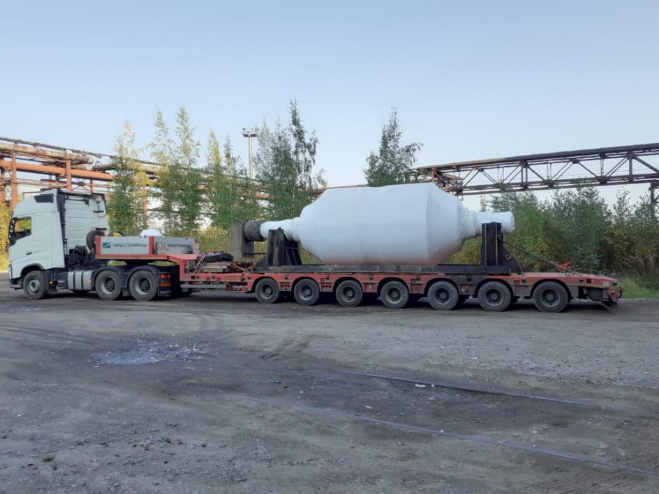 Негабаритное оборудование 76 тонн
