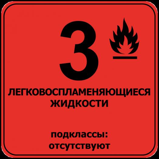 3 класс опасных веществ